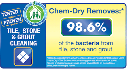 We can remove up to 98.6% of allergens from your stone, tile and grout